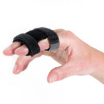 Rafys Vingerspalk verbind twee vingers met elkaar