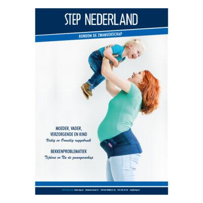 STEP brochure rondom de zwangerschap