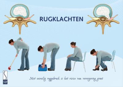 STEP Poster Onveilig Ruggebruik