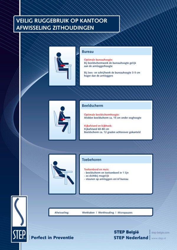 STEP RSI Poster afwisseling