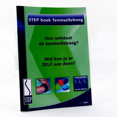 STEP Tenniselleboogboek