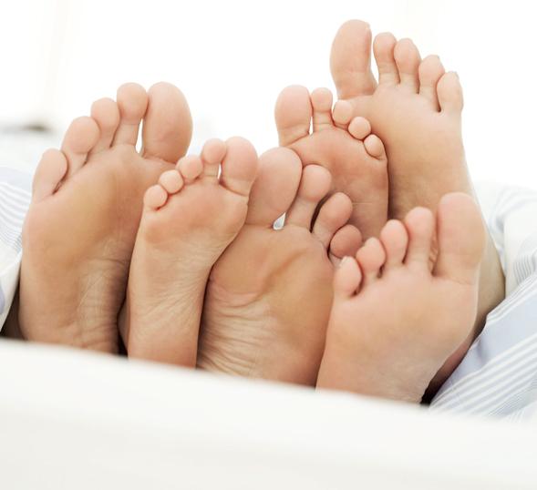 pijn onder of op de voet